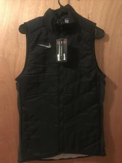 NWT Nike Men's Aerolayer Running Lightweight Vest Black S Sm