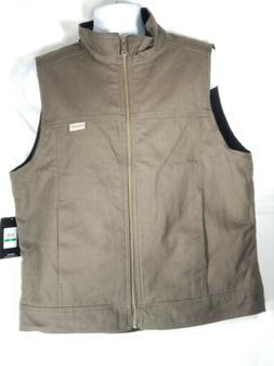 NWT Wolverine Men's Caleb Vest Mens Bison Brown Sleeveless S