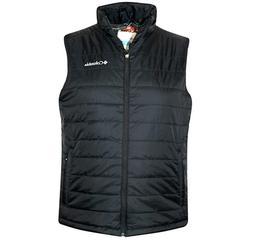 NWT MEN'S COLUMBIA Crested Butte Vest OMNI HEAT, BLACK, Size