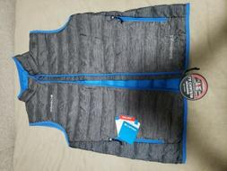 NWT COLUMBIA MEN'S LAKE 22 PACKABLE LIIGHTWEIGHT DOWN VEST C