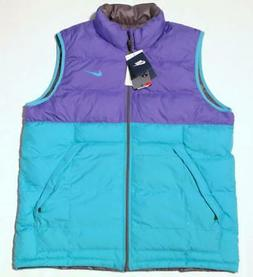 NWT Nike Men's Reversible Puff North Winter Vest #L  614690-