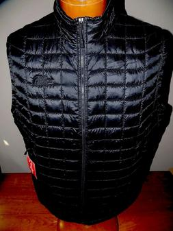 NWT The North Face Men's ThermoBall  Vest BLACK  SMALL, MEDI
