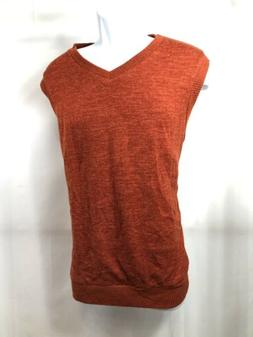 nwt men s v neck burnt orange