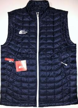 NWT THE NORTH FACE MEN THERMOBALL URBAN NAVY VEST STANDARD F