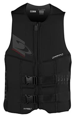 O'Neill Wetsuits Men's Assault USCG Life Vest, Black