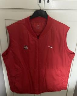 Nike Ohio State Buckeyes Mens Insulated Vest Size 3XL