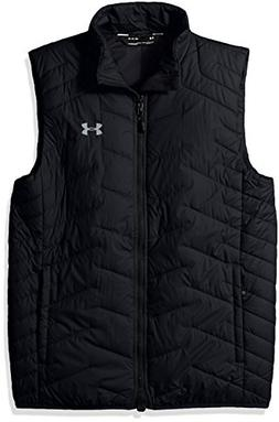 Under Armour Outerwear Men's Cold Gear Reactor Vest, Black/S