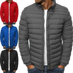 Packable Light Mens Down Puffer Jacket Bubble Ski Coat Quilt