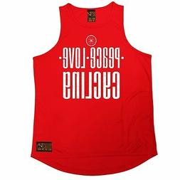 Peace Love Cycling RLTW MENS DRY FIT VEST singlet cycling cy