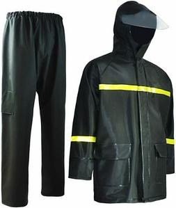 Rain Suit-Waterproof Jacket and Pants Durable Rain Gear for