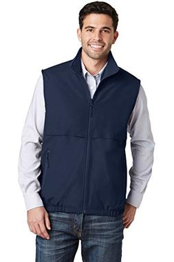 Port Authority Mens Reversible Charger Vest J7490 -True Navy