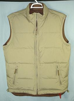ROPER REVERSIBLE DOWN INSULATED MENS VEST SIZE LARGE NEW WIT