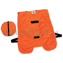 Frogg Toggs Blaze Orange Hunting Vest, One Size