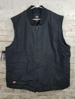 Dickies Sanded Duck Insulated Vest XL Men NWT