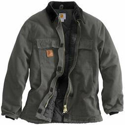 Carhartt Sandstone Traditional Coat, Men's Large Tall, Grave