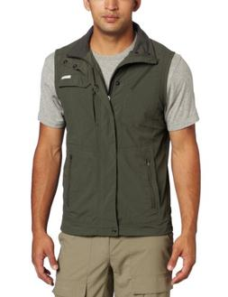 Columbia Men's Silver Ridge Vest, Gravel, XX-Large