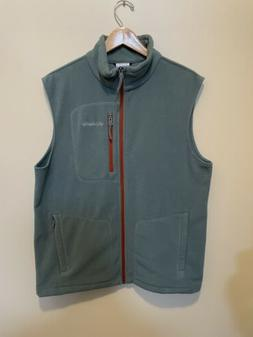 sportswear full zip fleece vest men s