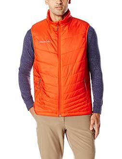 Columbia Sportswear Men's Mighty Light Vest, Spicy, X-Large