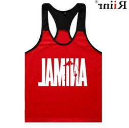 Summer Fashion Brand Gyms Tank Tops Men Bodybuilding Mens Cr