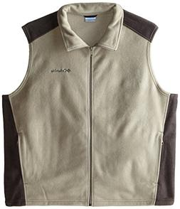 Columbia Men's Big & Tall Steens Mountain Fleece Vest, Tusk/