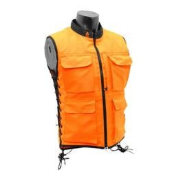 UTG True Hunter Male Sporting Vest , Orange/Black S - M,