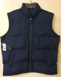 U.S. Polo Assn. men's blue puffer Vest/Jacket size XLarge  n