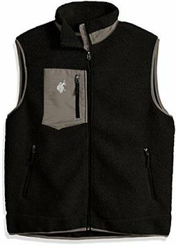 U.S. Polo Assn. Men's Full Zip Sherpa Vest - Choose SZ/color