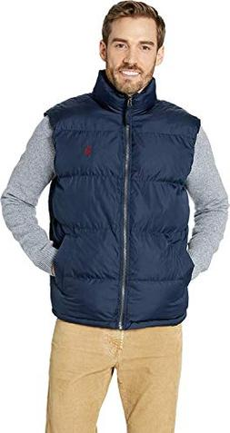 U.S. Polo Assn. Men's Signature Bubble Vest, Classic Navy 90