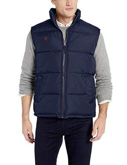 U.S. Polo Assn. Men's Signature Bubble Vest, Classic Navy, X