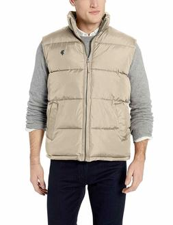 U.S. Polo Assn. Men's Signature Bubble Thomston Khaki Vest S