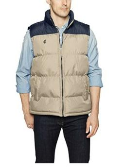 U.S. Polo Assn. Mens Standard Puffer Vest, Brand New With Ta