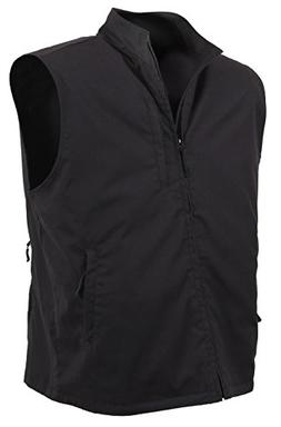 Rothco Undercover Travel Vest, Black, X-Large