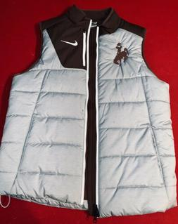 University Of Wyoming Cowboys Nike Thick Puffy Vest