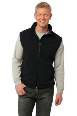 Port Authority Men's Value Fleece Vest L Black