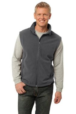Port Authority Men's Value Fleece Vest L Iron Grey