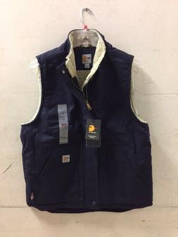 Carhartt VEST Flame Resistant FR Sherpa Lined LARGE TALL  NA