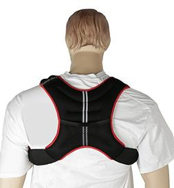 Gymenist Weight Vest With Adjustable Straps One Size Fits Al